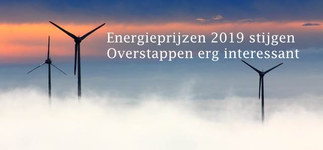 Energieprijzen 2019